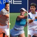 Cristian Garin, Alexa Guarachi y Tomás Barrios tienen rivales para la primera ronda de torneos europeos