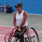 Macarena Cabrillana cayó en las semifinales de dobles del Toyota Open