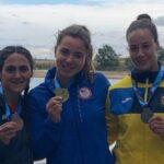 María José Mailliard ganó medalla de bronce en la Copa del Mundo de Canotaje