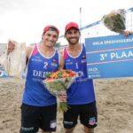 Los primos Grimalt obtuvieron el tercer lugar en fecha del Circuito Holandés de Volleyball Playa