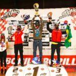 Ruy Barbosa ganó la categoría Junior 1 en la segunda fecha del Mundial de Moto Enduro