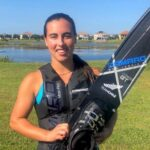 Siguen los récords: Valentina González logra nueva marca nacional en slalom
