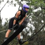 Agustina Varas logró una nueva marca nacional juvenil de salto