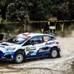Alberto Heller y Emilio Fernández sumaron puntos en el Rally de Cerdeña