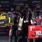 Benjamín Hites consiguió su primer triunfo en el GT World Challenge de Europa