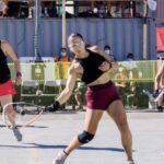 Carla Muñoz obtuvo dos subcampeonatos en el 3WB Outdoor World Championships de Racquetball
