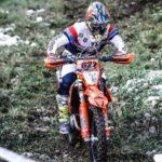 Matteo de Gavardo cerró una buena actuación en el Nacional Español de Moto Enduro