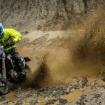 Ruy Barbosa sufrió una dura caída en el Nacional Italiano de Moto Enduro