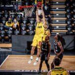 Sebastián Herrera realizó una buena actuación en derrota del EWE Baskets