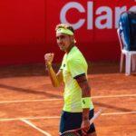 Alejandro Tabilo logró un sólido triunfo y se instaló en la segunda ronda del Challenger de Campinas