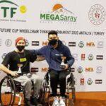 Alexander Cataldo se tituló campeón de dobles en Turquía