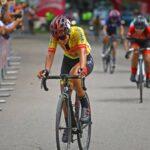 Aranza Villalón ocupó el lugar 13 en la cuarta etapa de la Vuelta a Colombia Femenina