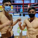 Combate entre Luis Cruzat y Juan Jiménez marca el retorno del boxeo en Chile