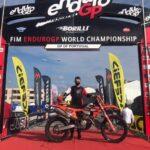 Matteo de Gavardo buscará el Top 5 de su categoría en el cierre del Campeonato del Mundo de Moto Enduro