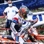 Matteo de Gavardo fue octavo en el comienzo de la tercera fecha del Campeonato del Mundo de Moto Enduro