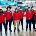 Selección Adulta de Lucha Olímpica viajó a Europa