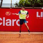 Tomás Barrios cerró su actuación en el Challenger de Lima tras caer en semifinales