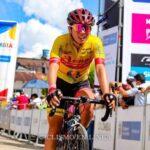 Aranza Villalón fue tercera en la contrarreloj del Tour Femenino Colombia
