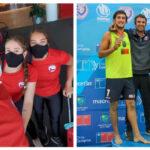 Seleccionados juveniles de volleyball playa entrenan en Paraguay