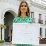 Francisca Crovetto recibió el Premio Nacional del Deporte 2019