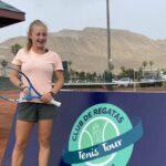 Martina Pavissich jugará la final del J5 Lima