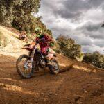 Matteo de Gavardo finalizó cuarto de su categoría en el Nacional Español de Moto Enduro