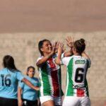 Palestino goleó a Deportes Iquique y mantiene opciones de clasificar a las semifinales del fútbol femenino