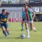 Palestino derrotó a Everton y clasificó a las semifinales del fútbol femenino
