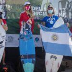 Rafaella Montesi ganó medalla de bronce en el Sudamericano de Surf Infantil