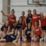 La Roja Femenina del Básquetbol completó su primera concentración en Santiago