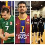 Vicente Parraguirre y Esteban Villarreal destacan en actuación de voleibolistas chilenos en Europa