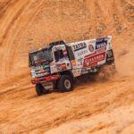 Ignacio Casale ocupó el octavo lugar de los camiones en la séptima etapa del Dakar
