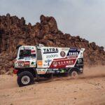 Ignacio Casale se mantiene en el Top 10 de los camiones pese a problemas mecánicos