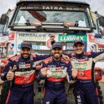 Ignacio Casale terminó noveno en la categoría camiones del Dakar