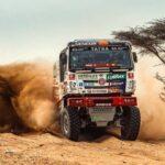Ignacio Casale tuvo un positivo debut en la categoría Camiones del Dakar