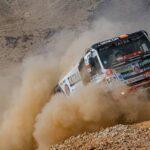 Ignacio Casale termina octavo y mantiene el sexto lugar en la general de los camiones
