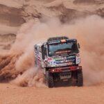 Ignacio Casale subió al noveno lugar en la categoría camiones