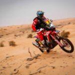 José Ignacio Cornejo es el nuevo líder de las motos en el Dakar