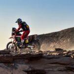 José Ignacio Cornejo ingresó al Top Ten de las motos en el Dakar