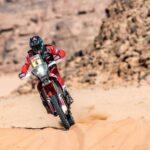 José Ignacio Cornejo gana la octava etapa y sigue cómo líder de las motos