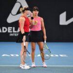 Alexa Guarachi y Desirae Krawczyk cayeron en la primera ronda de dobles del WTA 1000 de Miami
