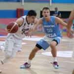 Chile cayó ante Argentina en una nueva fecha de las  clasificatorias a la FIBA Americup