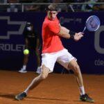 Nicolás Jarry se despidió del Challenger de Todi en los cuartos de final