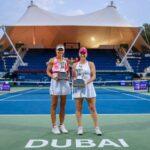 Alexa Guarachi y Darija Jurak son las campeonas de dobles del WTA 1000 de Dubai