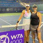 Alexa Guarachi y Darija Jurak avanzaron a los cuartos de final de dobles en Dubai