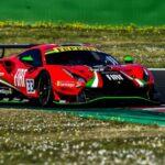 Benjamín Hites pone a punto su Ferrari para el GT World Challenge Europe