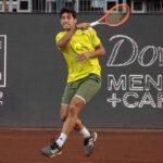 Cristian Garin quedó libre en la primera ronda del ATP de Estoril