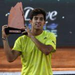 Cristian Garin se tituló campeón del ATP 250 de Santiago