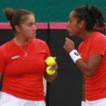 Bárbara Gatica y Daniela Seguel se despidieron de torneo W60 español