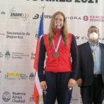 Inés Marín ganó medalla de bronce en el Sudamericano de Deportes Acuáticos